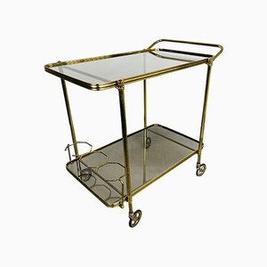 Vintage Serving Bar Cart, Italy, 1960s