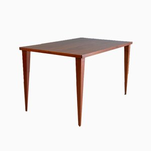 Teak Writing Desk or Small Dining Table by Nanna Ditzel