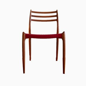 Model No.78 Chairs by Niels Otto Møller for J. L. Møllers, Set of 2