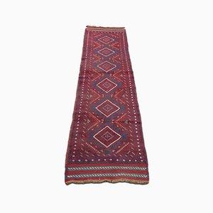 Long Vintage Caucasian Decorative Meshwani Runner