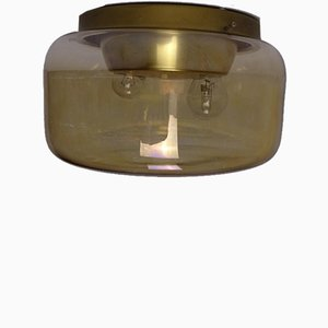 Golden Ceiling Lamp by Rolf Rooms Bamberg