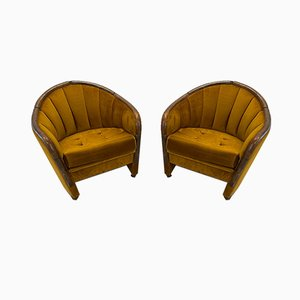 Lounge Chairs in the Style of Gino Ponti, Set of 2