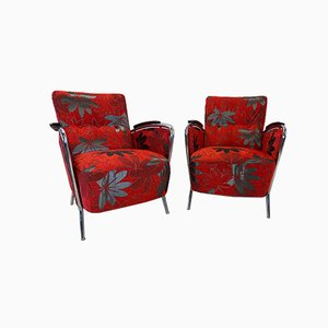 Lounge Chairs by Hynek Gottwald, Set of 2