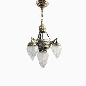 Catalan Modernist Ceiling Lamp, 1930s