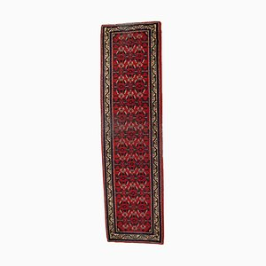 Vintage Middle Eastern Handmade Hamadan Runner, 1960s