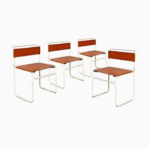 Italian Mid-Century Modern Libellula Chairs by G. Carini for Planula, 1970s, Set of 4