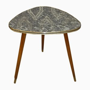 Formica & Marble Cocktail Table, 1950s