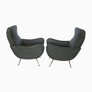 Lady Lounge Chairs by Marco Zanuso, Set of 2