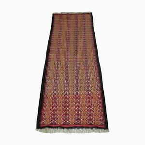 Vintage Wool Kilim Runner Rug