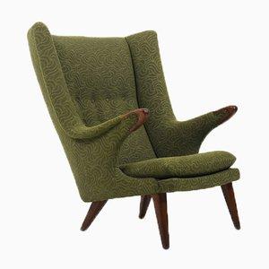 Mid-Century Danish Bear Lounge Chair by Bent Møller Jepsen