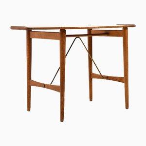 Mid-Century Danish Butler's Tray Table in Teak