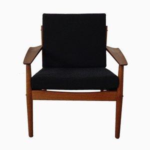 Teak Armchair by Arne Vodder for Glostrup, 1960s