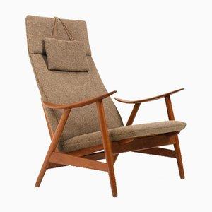 Mid-Century Teak Lounge Chair by Illum Wikkelsø for Søren Willadsen Møbelfabrik