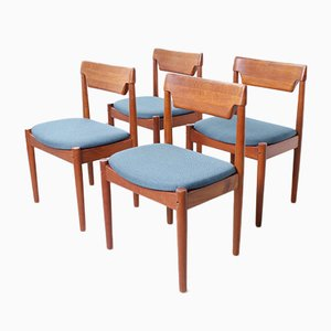 Teak Dining Chairs by Grete Jalk for Glostrup, 1960s, Set of 4