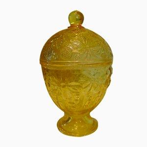 Vintage Sugar Bowl, Bohemia, 1950s-1970s