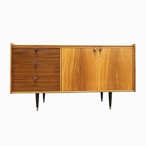 Vintage Teak & Walnut Sideboard, 1960s