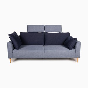 Freestyle 162 Blue Sofa by Rolf Benz