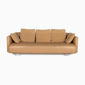 6300 Leather Sofa by Rolf Benz