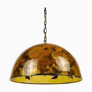 Plexiglass Pendant Lamp, Germany, 1960s