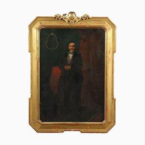 Male Portrait on Canvas