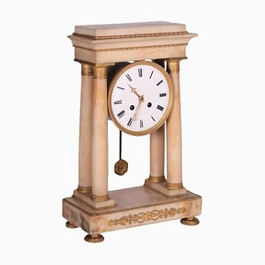 Marble Clock Temple