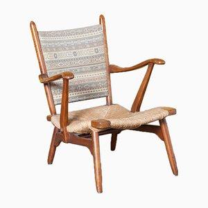 Star Gelderland Armchair with Seagrass Rush Seat from De Ster Gelderland