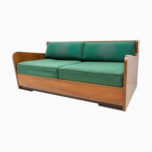 Mid-Century Folding Sofa Bed by Jindřich Halabala, 1950s