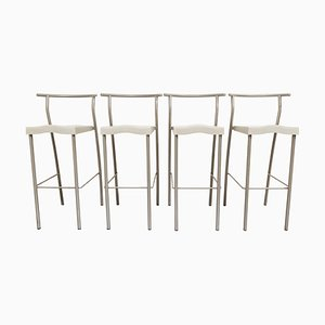 Hi Glob High Stools by Philippe Starck for Kartell, Set of 4