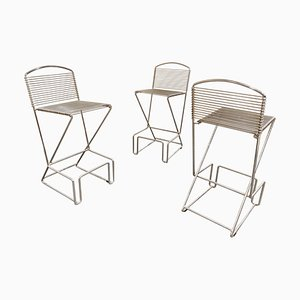 Stools by Till Behrens for Schlubach, 1980s, Set of 3