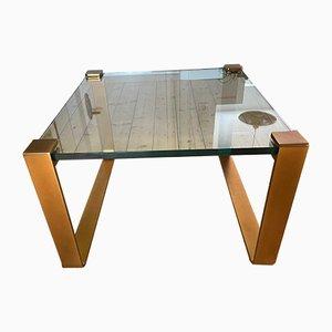 Golden Side Table by Ronald Schmitt, 1970s