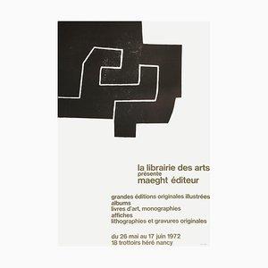 Expo 72, Librairie des Arts Poster by Eduardo Chillida