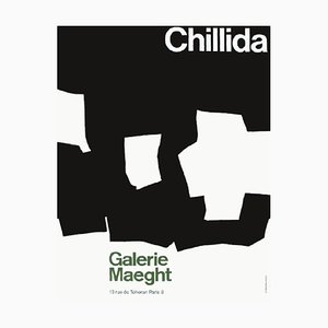 Expo 68, Galerie Maeght Poster by Eduardo Chillida