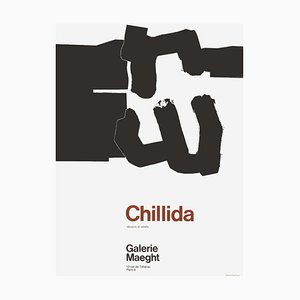 Expo 70, Galerie Maeght Poster by Eduardo Chillida