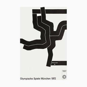 Olympische Spielen München Poster by Eduardo Chillida