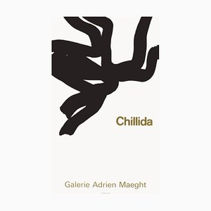 Expo 66, Galerie Maeght Poster by Eduardo Chillida