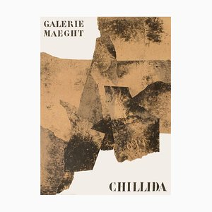 Expo 61, Galerie Maeght Poster by Eduardo Chillida