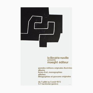 Expo 72, Librairie Naville Genève Poster by Eduardo Chillida