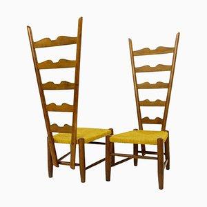 Chairs by Gio Ponti for Casa E Giardino, Milan, Italy, 1939, Set of 2
