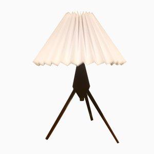Danish Tripod Teak Table Lamp, 1960s