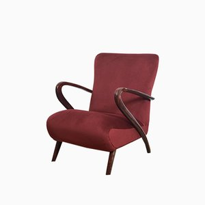 Italian Lounge Chair Attributed to Paolo Buffa, 1950s