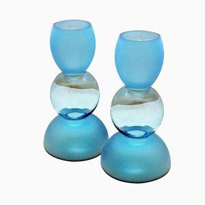 Murano Vasen von Toni Zuccheri für Barovier & Toso, 1980er, 2er Set