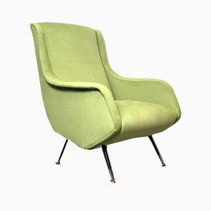 Italian Lounge Chair by Aldo Morbelli for ISA Bergamo, 1950s