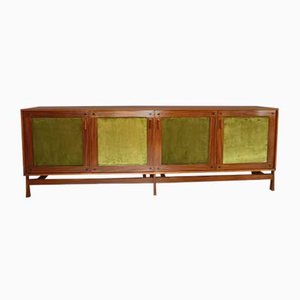 Teak Sideboard with 4 Doors from Saima, 1950s