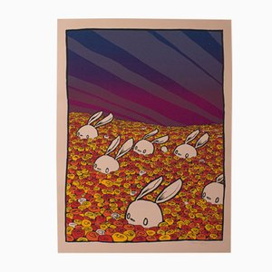American Limited Decorative Art Screenprint and Illustrated Poster, 2006