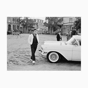 Elvis on Set Pigment Fine Art Baryta Print by Archive Photos