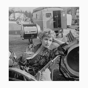 Eva Bartok Pigment Fine Art Baryta Print by Archive Photos
