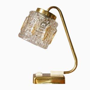Mid-Century Gold Table Lamp, 1950s