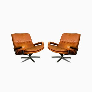 King Lounge Chair by André Vandenbeuck for Arflex, 1960s, Set of 2
