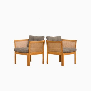 Plexus Armchairs by Illum Wikkelso for CFC Silkeborg, 1970s, Set of 2