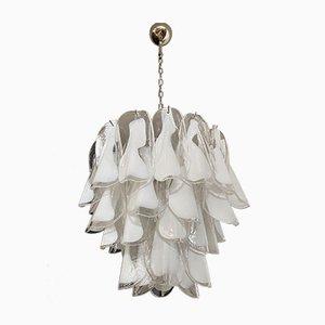 Vintage Italian Murano Glass Rondini Ceiling Lamp from Mazzega, 1980s